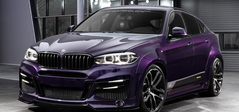 Tohle upravené BMW X6 má drzý body kit, barvu od Porsche a hlavně brutální výkon