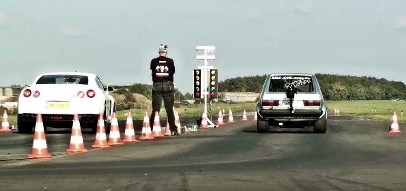 VW Golf, který na sprint pojede i 1300 koňové GTR! Masakr!