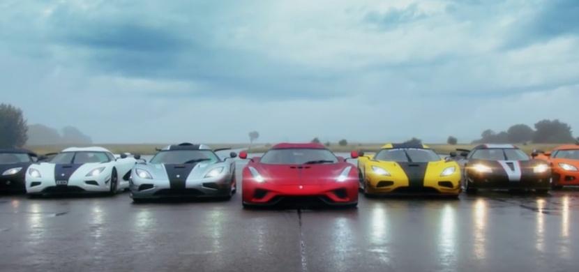 Jak vypadá sraz aut značky Koenigsegg? Tohle video vás ohromí!