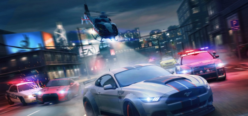 Need for Speed 2? Mustang při pronásledování ujel policii, nepřečetli ani značku