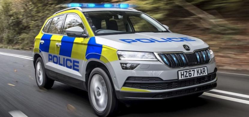 Škoda Karoq v policejních službách! Premiéru má ve Velké Británii