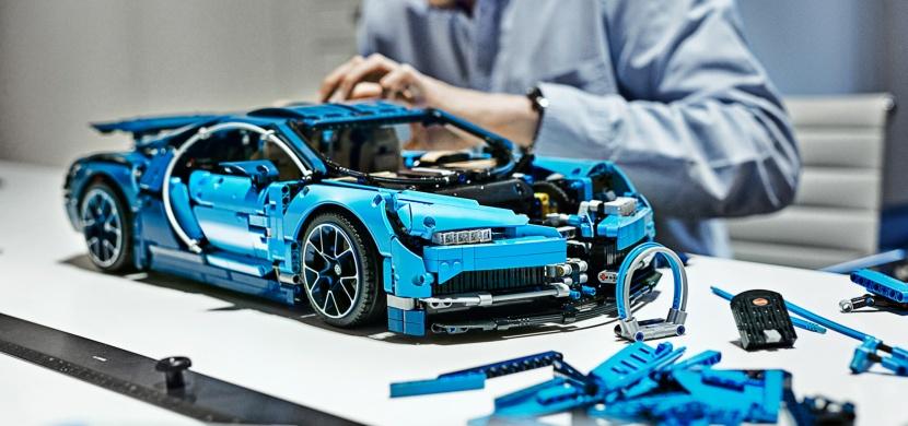 LEGO Bugatti Chiron? Tenhle precizní kousek si nemůžete nechat ujít