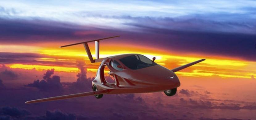 Létání a jízda po zemi v jednom? Tohle je první létající sportovní vůz na světě