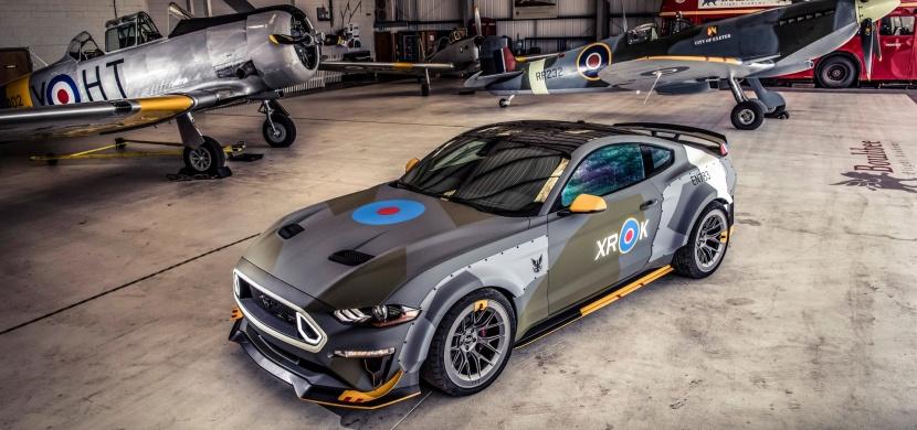 Ford Eagle Squadron Mustang GT a stoleté výročí vzniku RAF