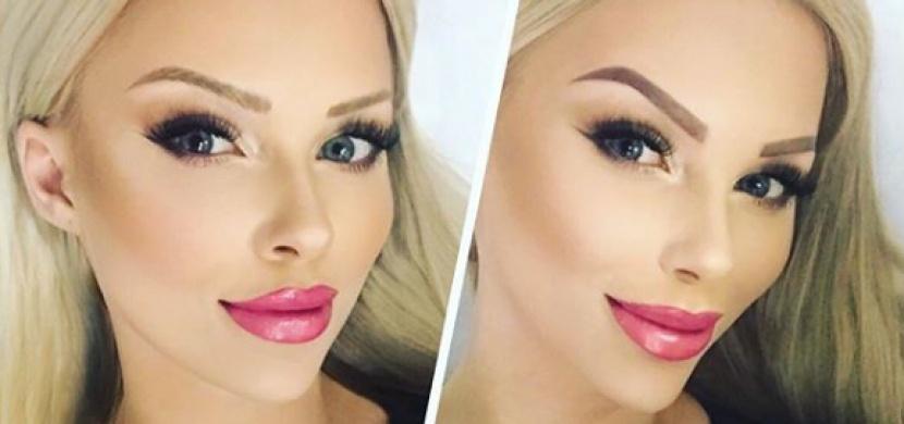 Česká Barbie se ukázala na sociální síti bez make-up. Proč používá tolik líčidel?