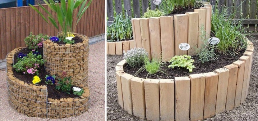 Bylinková spirála: Originální záhonek pro bylinky, který se stane ozdobou vaší zahrady